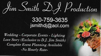 Jim Smith DJ Productions - Mobile DJ - Youngstown, OH