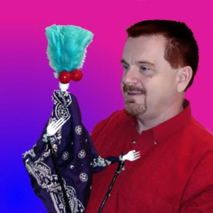 Freeman Spur Puppeteer | Tom Bonham Puppet and Marionette Productions