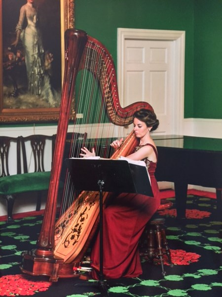 Caresse Boyers - Classical Harpist - Wauseon, OH