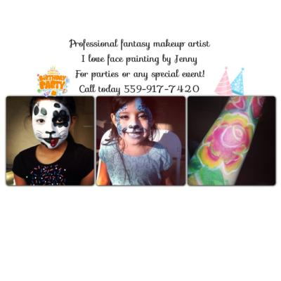 I love face painting by Jenny  | Fresno, CA | Face Painting | Photo #1