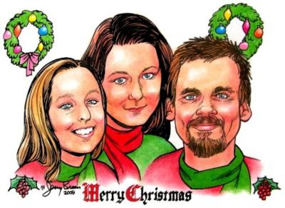 Caricatures by Jerry Breen | Baltimore, MD | Caricaturist | Photo #19