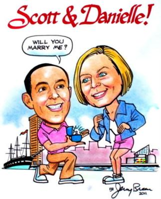 Caricatures by Jerry Breen | Baltimore, MD | Caricaturist | Photo #23