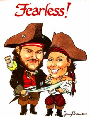 Caricatures by Jerry Breen | Baltimore, MD | Caricaturist | Photo #22