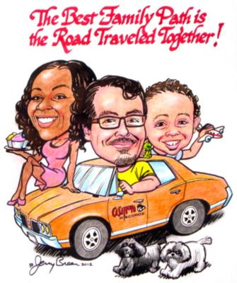 Caricatures by Jerry Breen | Baltimore, MD | Caricaturist | Photo #24