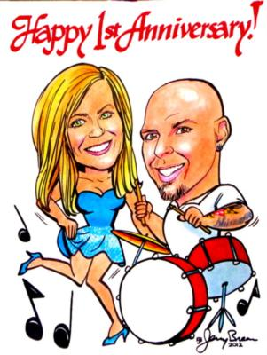 Caricatures by Jerry Breen | Baltimore, MD | Caricaturist | Photo #18