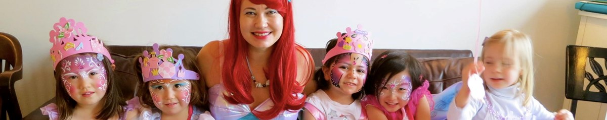 Face Painting, Balloons, Princesses with Melinda