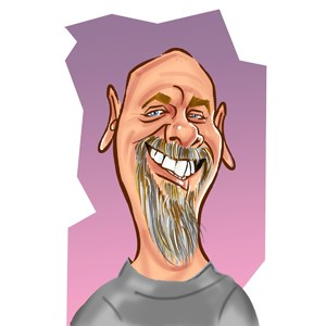 Redding Ridge Silhouette Artist | Caricatures by Steve Nyman
