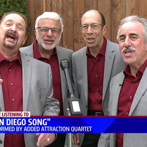 San Diego, CA Barbershop Quartet | Added Attraction Quartet