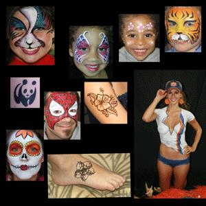 St Petersburg Face Painter | Foxy Face and Body Art