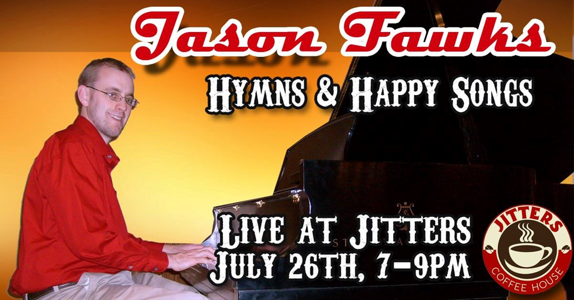 I love performing at Jitter's!