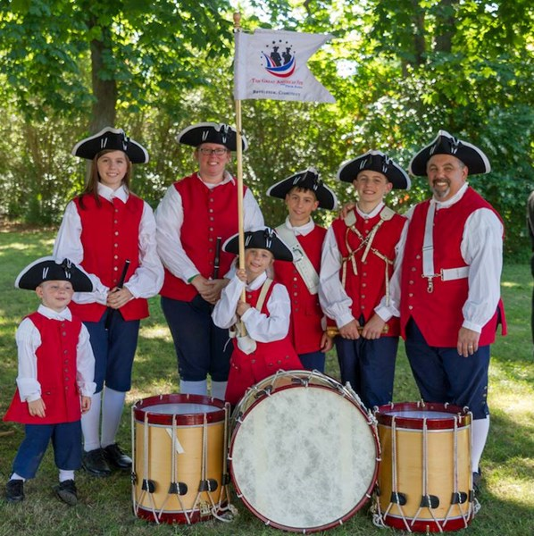 The Great American Fife & Drum Band - Americana Band - Bethlehem, CT