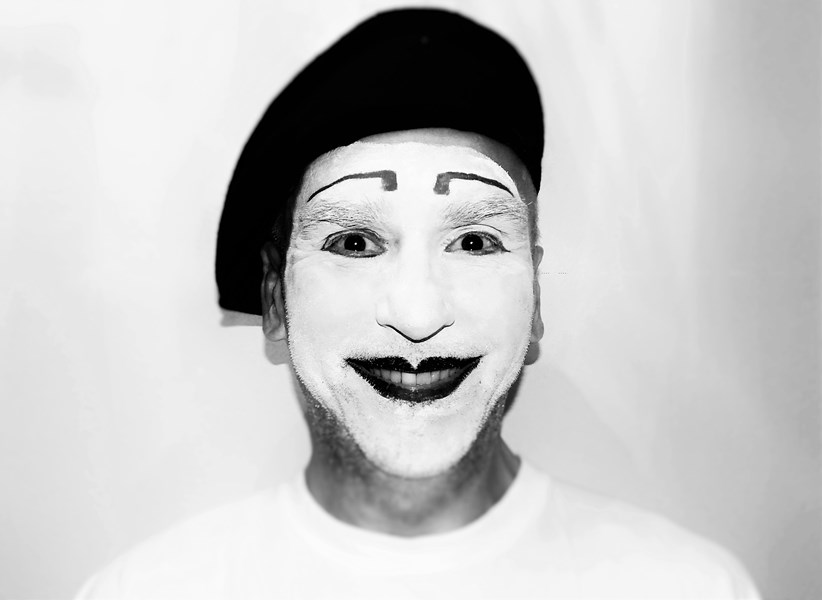 Mime make-up (more photos coming)