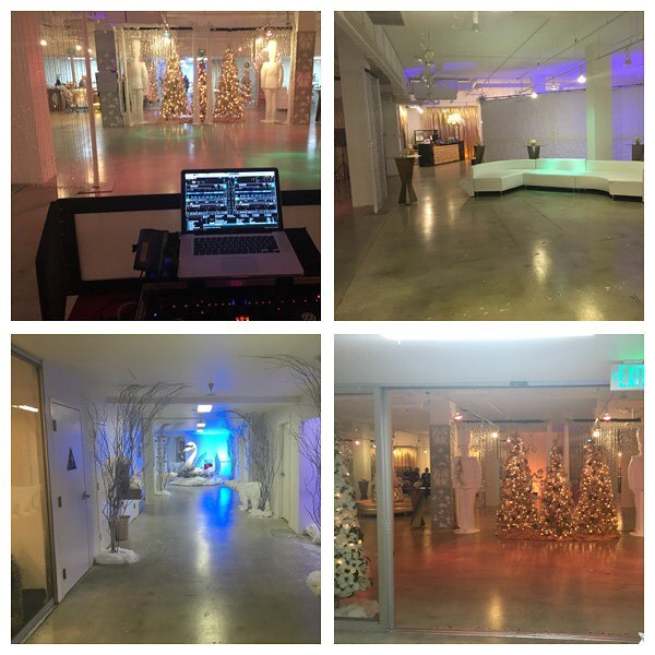 holiday event for the artist guild
