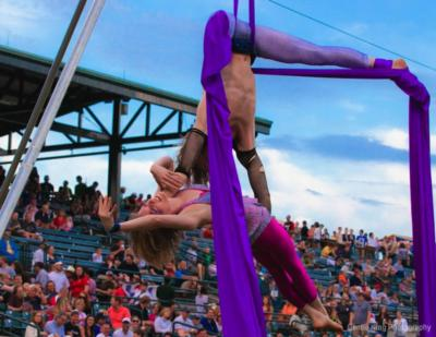 Wonderson Aerialist Duo | Charleston, SC | Circus Act | Photo #12