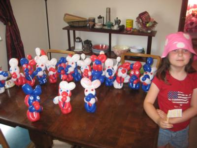 Cow Town Twister | Worthington, OH | Balloon Twister | Photo #3