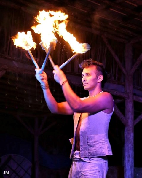 Gabriel the Fire Sage - Fire Dancer - Cincinnati, OH
