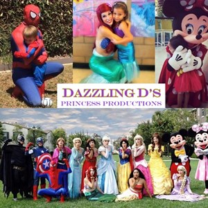 Irvine Princess Party | Dazzling D's Princess Productions