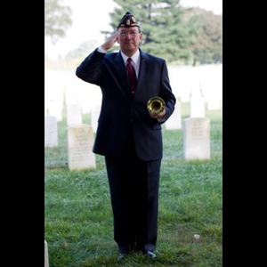 Fort Defiance Trumpet Player | Taps Bugler