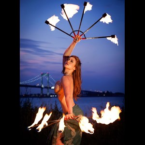 Trenton Fire Dancer | Rachel Jessee