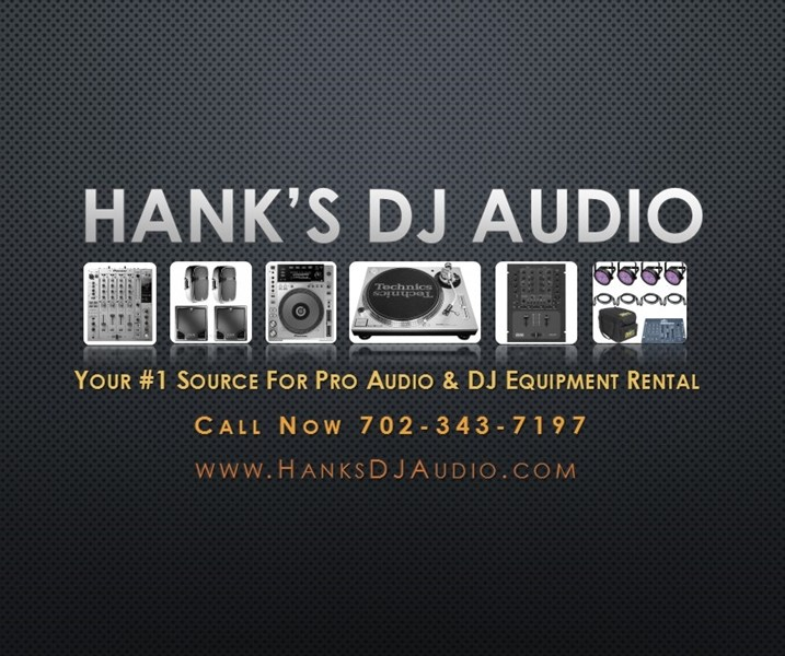 Hanks DJ & Audio Equipment Rental - DJ - Las Vegas, NV
