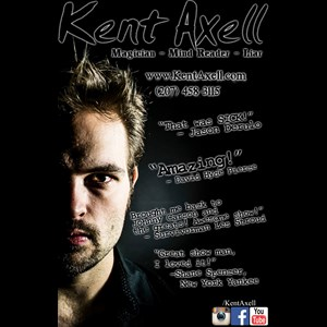 New York City Mentalist | Kent Axell