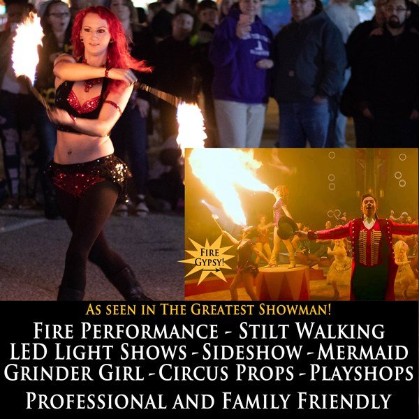Fire Gypsy Productions - Fire and Circus Arts - Fire Dancer - Worcester, MA