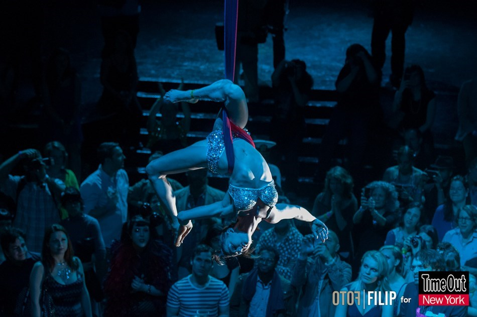 Aerialist featured in Time Out NY!