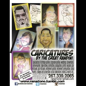 The Great Randini - Caricaturist - Philadelphia, PA