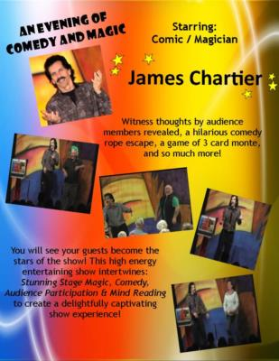 James Chartier Comic Magician | Sarasota, FL | Comedy Magician | Photo #4