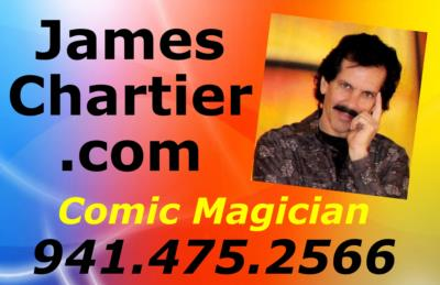 James Chartier Comic Magician | Sarasota, FL | Comedy Magician | Photo #5