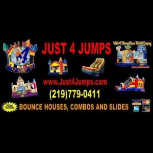 Gary Party Inflatables | Just 4 Jumps Inc.