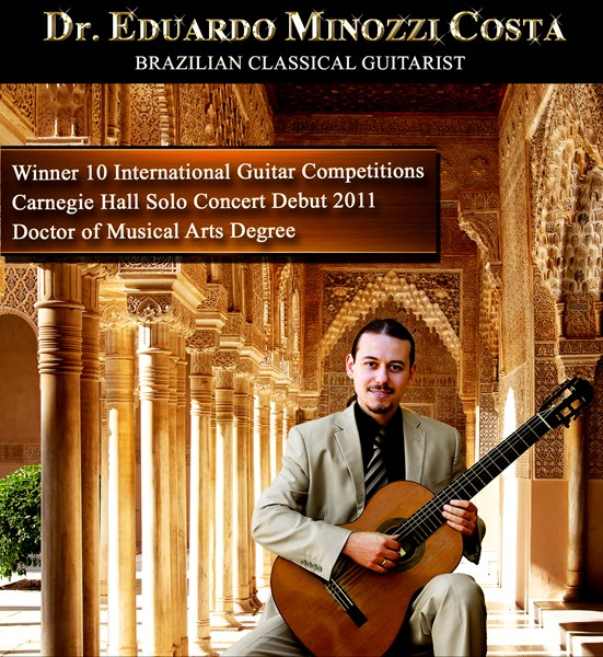 Dr. Costa- 10x International Winner- Carnegie Hall - Classical Guitarist - Phoenix, AZ