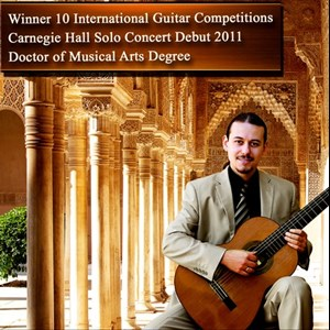Amado Acoustic Guitarist | Dr. Costa- 10x International Winner- Carnegie Hall