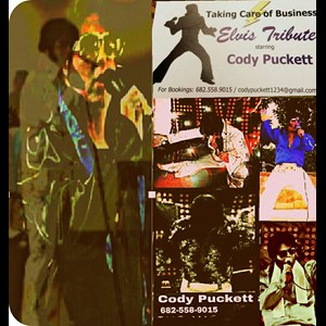 Fort Worth Elvis Impersonator | cody as elvis