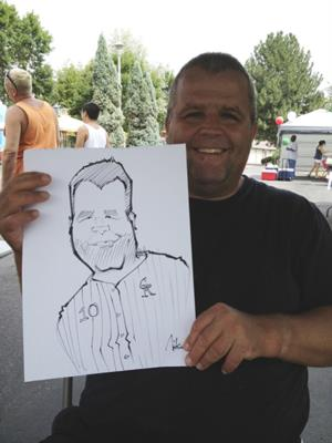 Nicko Dahlstrom | Denver, CO | Caricaturist | Photo #17