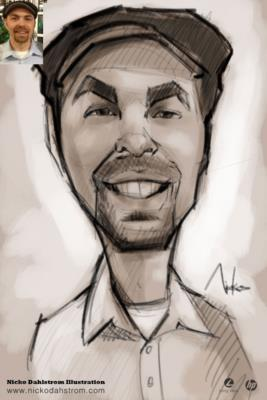 Nicko Dahlstrom | Denver, CO | Caricaturist | Photo #13