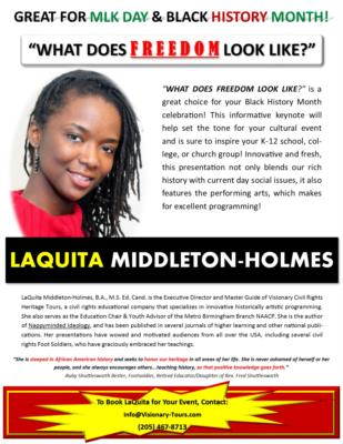 LaQuita Middleton-Holmes | Birmingham, AL | Keynote Speaker | Photo #12