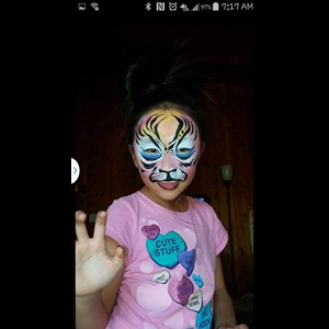 San Diego Face Painter | Face painting by Leling