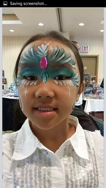 Face painting by Leling