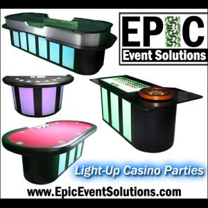 Epic Event Solutions - Casino Games - Pompano Beach, FL