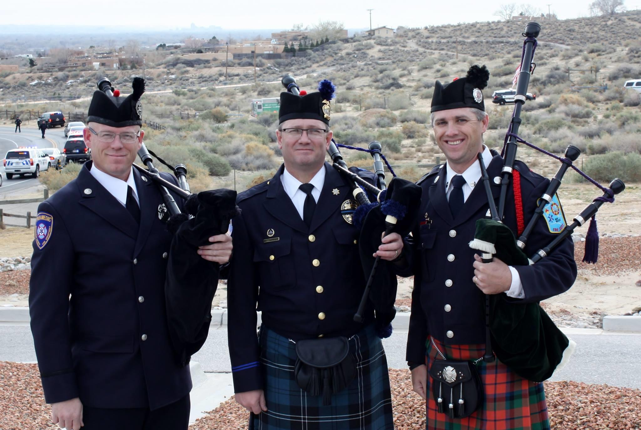 New Mexico Fire and Police Pipes and Drums