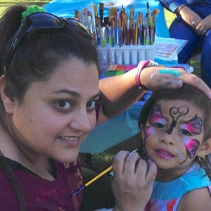 Culver City Face Painter | Lady Glitter