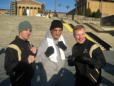 Rocky Impersonator-Army Navy Game