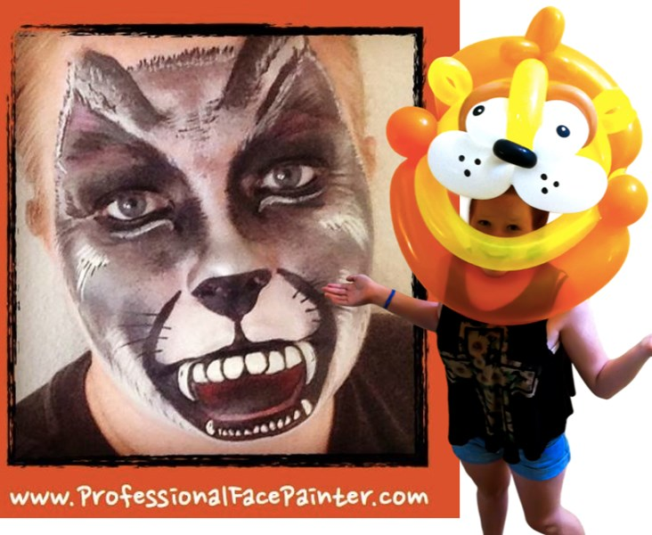 Professional Face Painter & Balloon Twister - Face Painter - Laguna Hills, CA