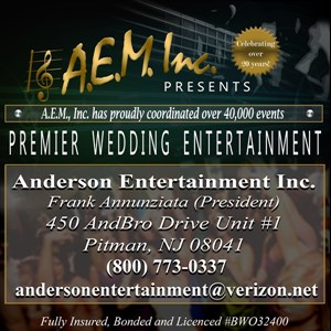 Frederica 90s Band | AEM Wedding Bands