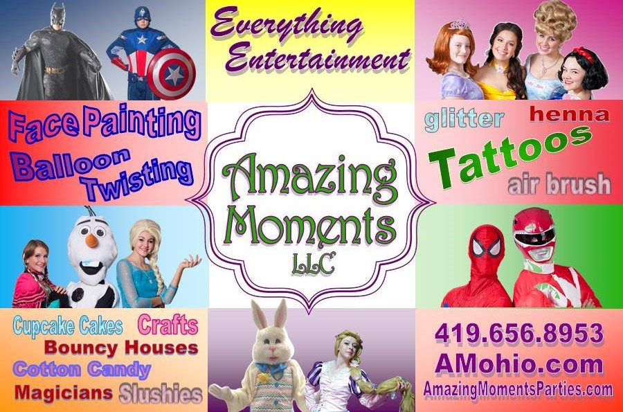 Amazing Moments LLC - Face Painter - Huron, OH