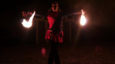 Pyrofin Performers | Houston, TX | Fire Dancer | Photo #4