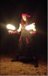 Pyrofin Performers | Houston, TX | Fire Dancer | Photo #1