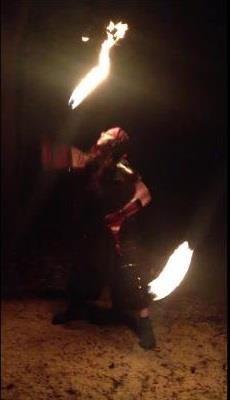 Pyrofin Performers | Houston, TX | Fire Dancer | Photo #3