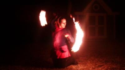 Pyrofin Performers | Houston, TX | Fire Dancer | Photo #2